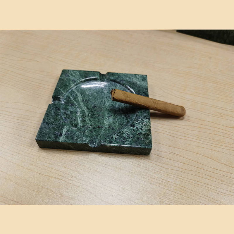 Practical high-end marble ashtray