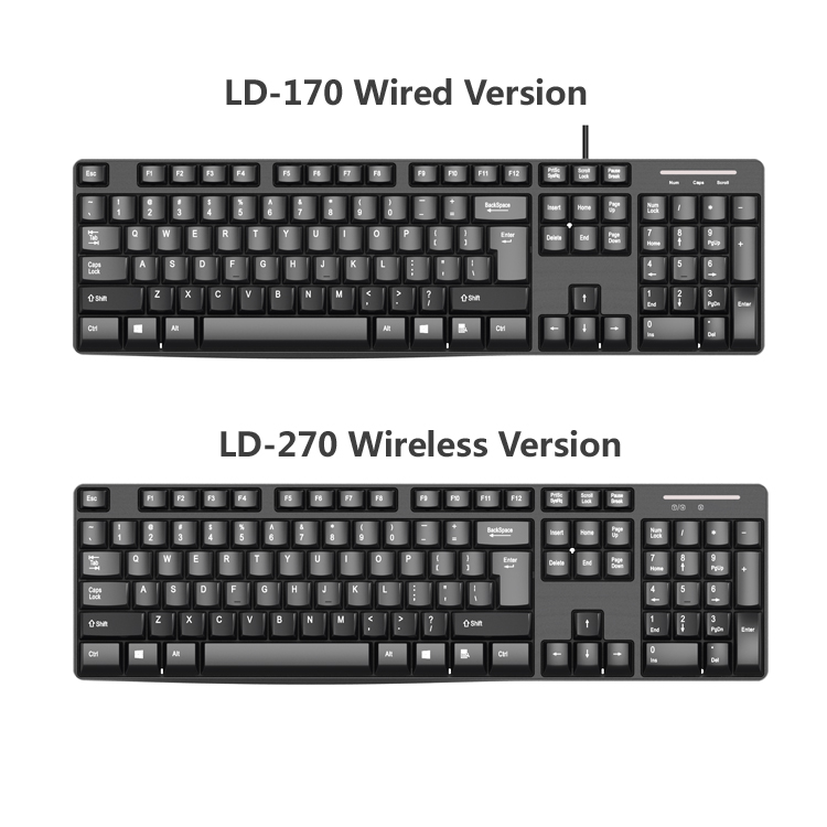 New Arrival Cheap Price Laptop Keyboard OEM Wired Keyboard