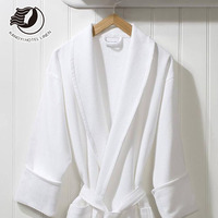 Custom Size Cheap 100% Cotton Hotel Spa Bath Robe