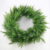 Factory PE plastic needle artificial Christmas wreath indoor without ornatments