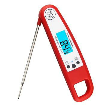 Waterproof Design Digital Instant Read Meat Thermometer Food BBQ Thermometer with LED Backlight