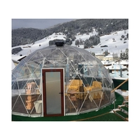 Geodesic Design Dome Tent Backyard Clear Dome House