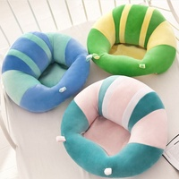 Baby Support Seat Sofa chair toddler Plush Soft Animal Shaped Baby Learning To Sit Chair