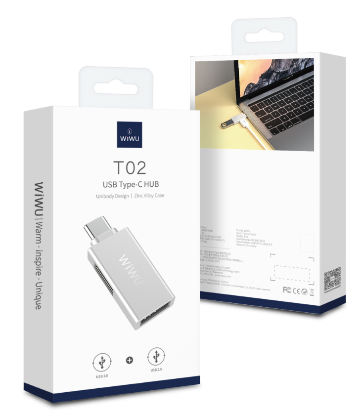 WIWU T02 type C 转接头 (https://www.wiwu.net.cn/) 手机转接器 第6张