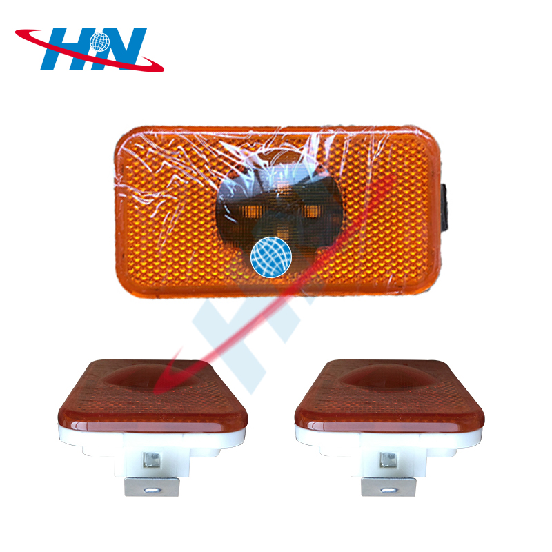 China Factory Seller side mirror puddle light marker truck led for Mercedes benz