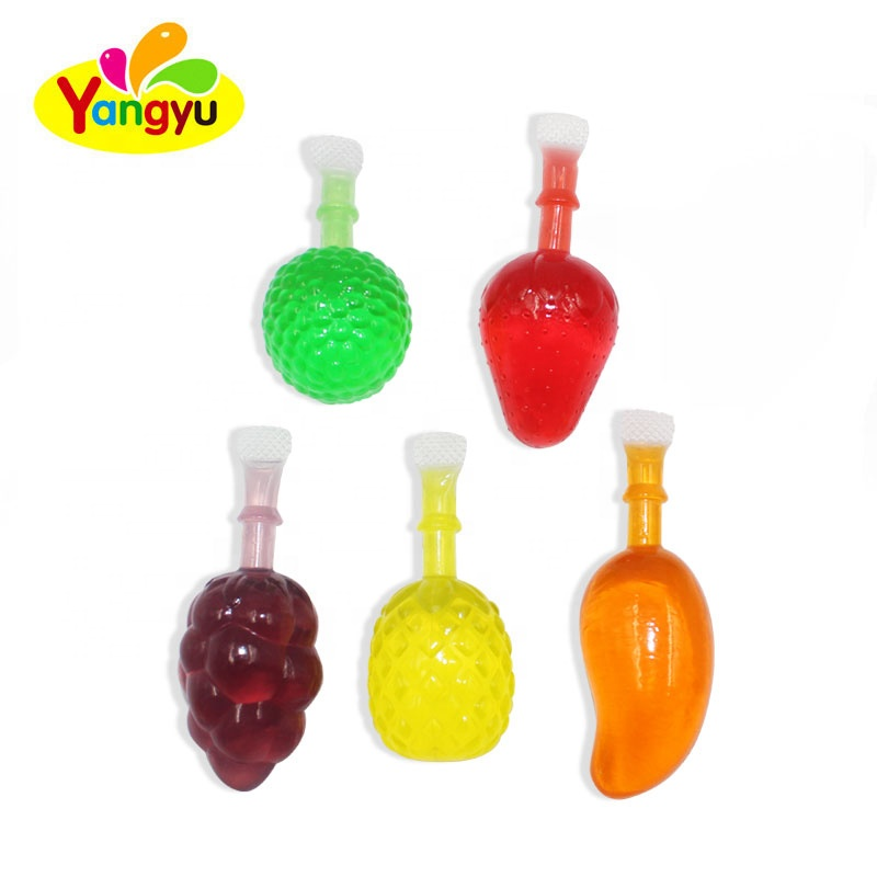 China Colorful Cute Fruit Shape Yummy Juice Fruity Jelly