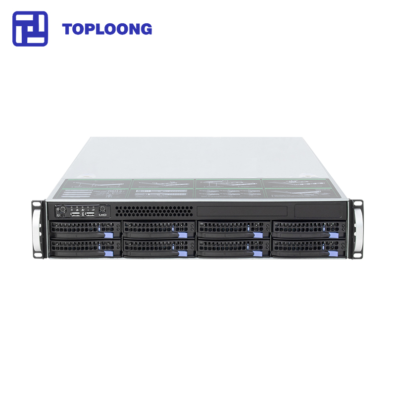 2U rackmount case for cloud computing