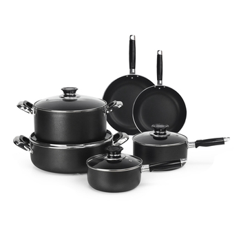 royal prestige aluminum black handles for pots and pans