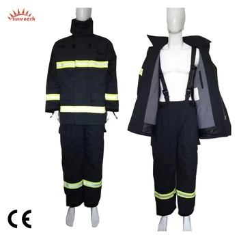 EN469 Nomex FireFighting Coverall