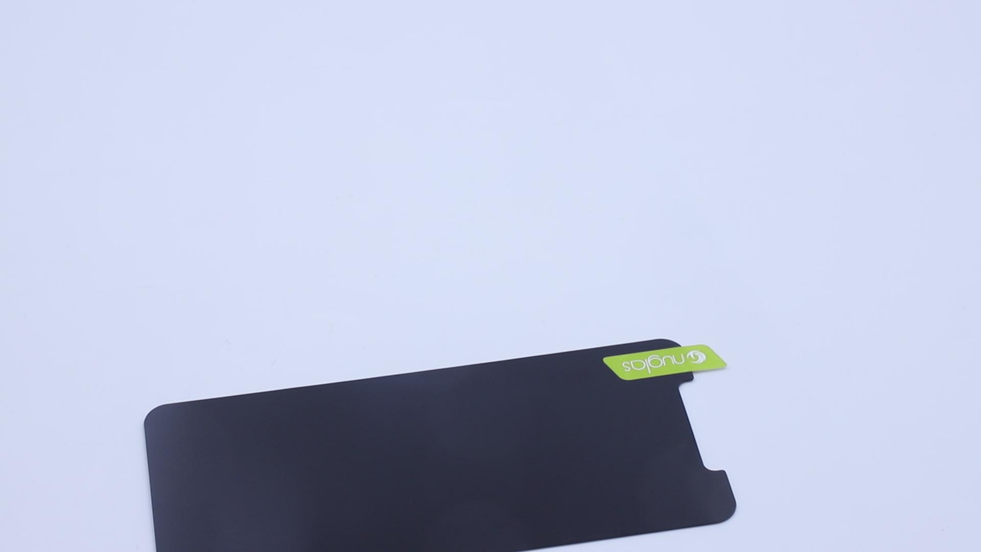 Nuglas 9H شاشة الخصوصية طبقة واقية لفون 11 برو مكافحة التجسس خفف من الزجاج
