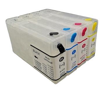 T703 Refillable empty cartridge  Ink Cartridge for epson  Pro WP-4025/WP-4015/WP-4525