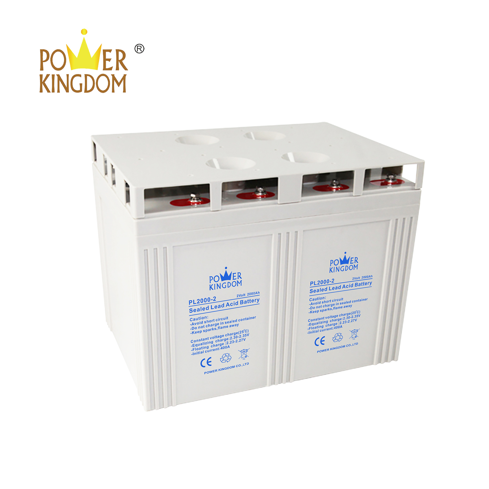 Power Kingdom 12 volt gel deep cycle battery for business solar and wind power system-3