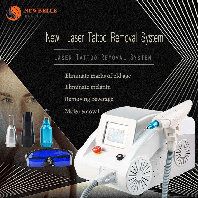 Máquina láser de eliminación de tatuajes 2000mj, pigmento profesional para eliminar la piel, blanqueamiento facial, rejuvenecimiento de la piel, máquina de tratamiento de acné