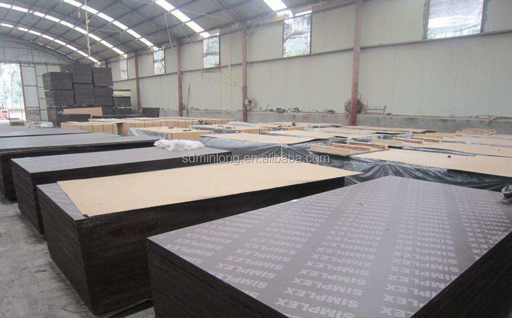 18mm Tego Film Faced Plywood Concrete Formwork