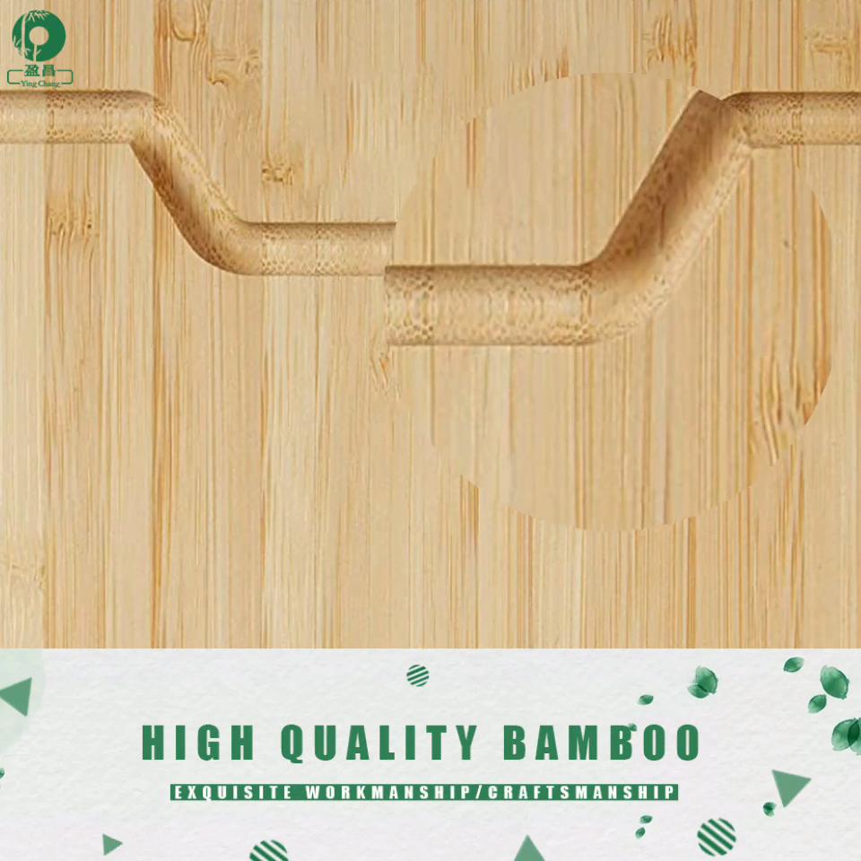 유연한 친환경 대나무 커팅 보드 18x12inch