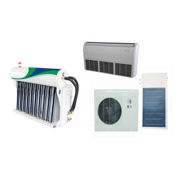 China supplier 100% solar air conditioner 9000btu Off grid 100% DC48V split solar power air conditioner