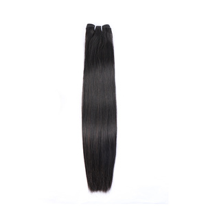 Bliss Hair double drawn peruvian human hair bundles mink straight hair