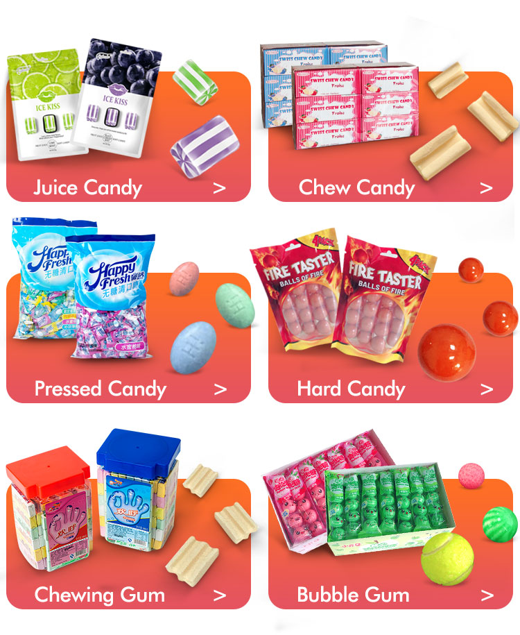 bag packing chews candies soft fruit sour candy grapefruit soft sour chew candy