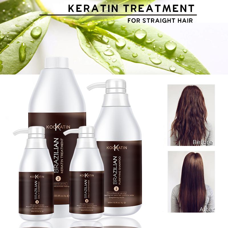 1000Ml Heißer Verkauf Berufs Salon Verwenden Keratin Behandlung Brasilianische Haar Behandlung