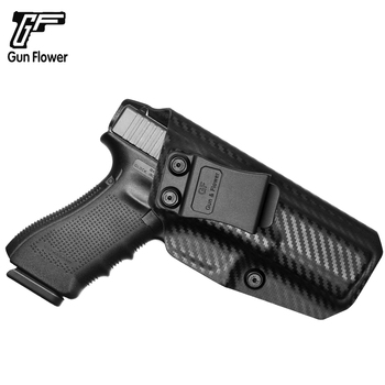 Gun&Flower Glock 17 Carbon Fiber Kydex Holster Glock Sig Sauer Pistol Kydex Sheet Holder Carrier H&K Walther Gun Accessories