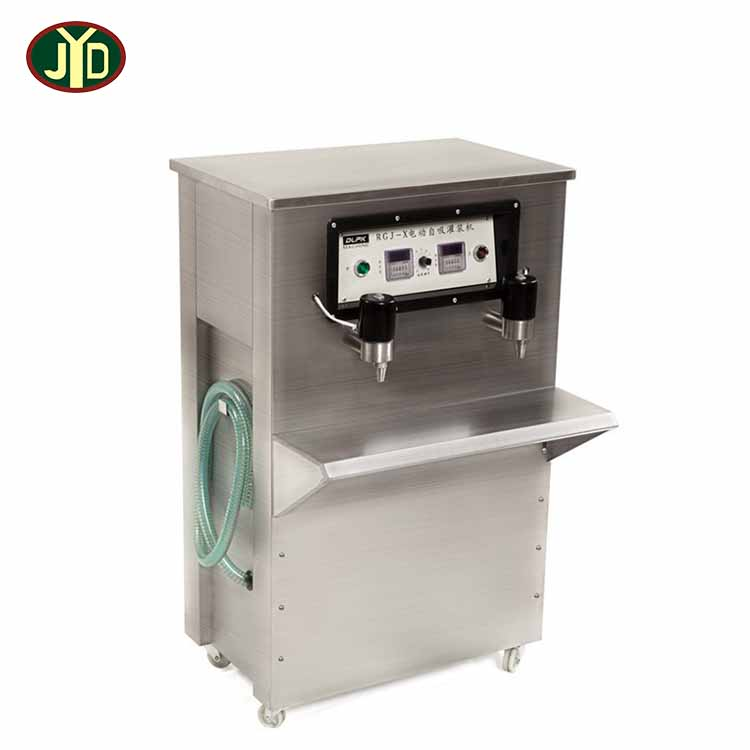 Factory RGJ-X Automatic Double Heads Durable Vertical Electric Self-priming Liquid Filling <strong>Machine</strong> Soft Drink Racking Machinery