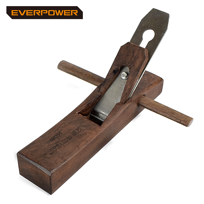 EVERPOWER HK-Style middle size Carpenter Ebony Hand Planer For Great DIY Wood Working