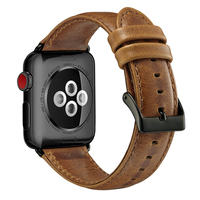 High quality leather watch strap 38mm/40mm 42mm/44mm for Apple watch series 1 2 3 4, for apple watch genuine leather band