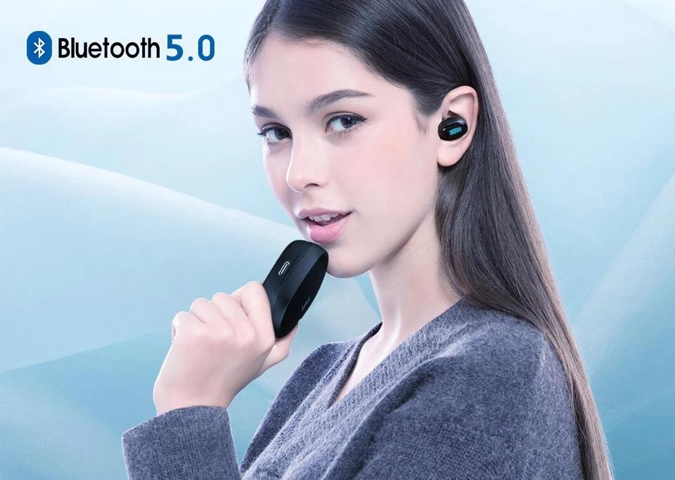 Uiisii TWS 16 Wireless Waterproof Bluetooth 5.0 Earbuds True Wireless Earbuds