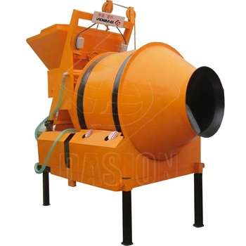 350L electric portable hydraulic mobile one bagger winget reversing drum concrete mixer south africa