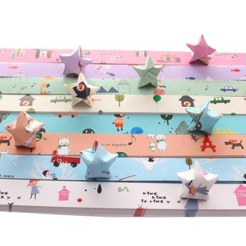 2019 Via HKpsot+Lucky Wish Star Origami Paper Ribbon Origami Lucky ... | 350x350