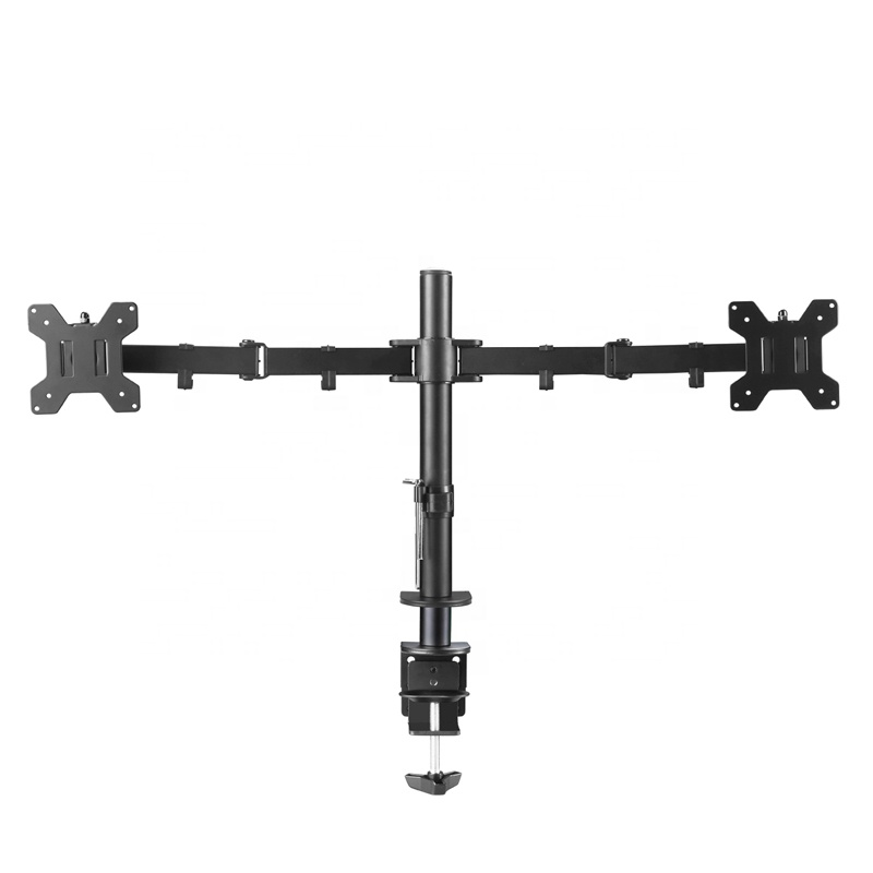 LB-T022 full motion lcd desktop dual monitor mount