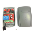 12V 27A universal garage remote 433.92mhz rolling code and fixed code 433.92 mhz gate control receiver