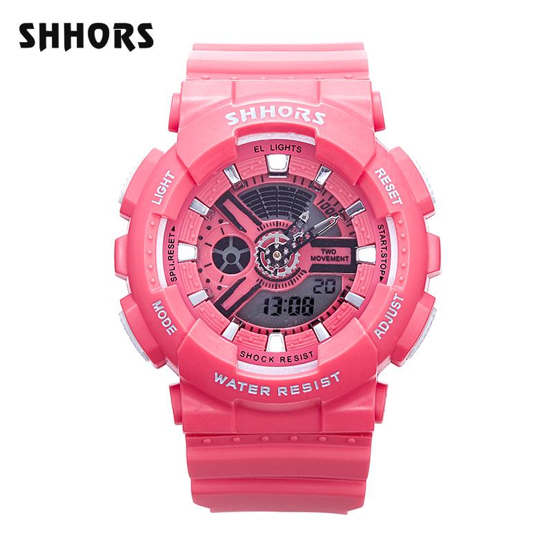 Shhors Montre Numérique électronique Fille montre-bracelet montre de mode pour Dames 810K