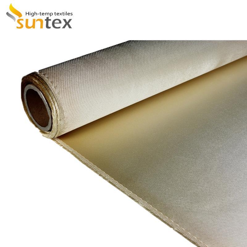 1700 Degree High Temperature Resistant High Silica Heat Treated Fiberglass Cloth/Fabric