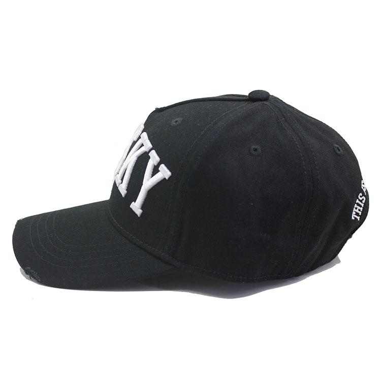 Custom 3d embroidery logo cotton popular fashion hat baseball cap