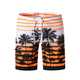 Wholesale quick dry comfortable board shorts custom printed mens swimwear