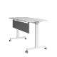 Modern Melamine Metal Frame training foldable desk office table