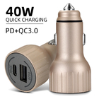 Quick Charge 3.0 Car Charger For Mobile Phone Dual Usb Car Charger Qc 3.0 Fast Charging Adapter Mini Usb dual car charger