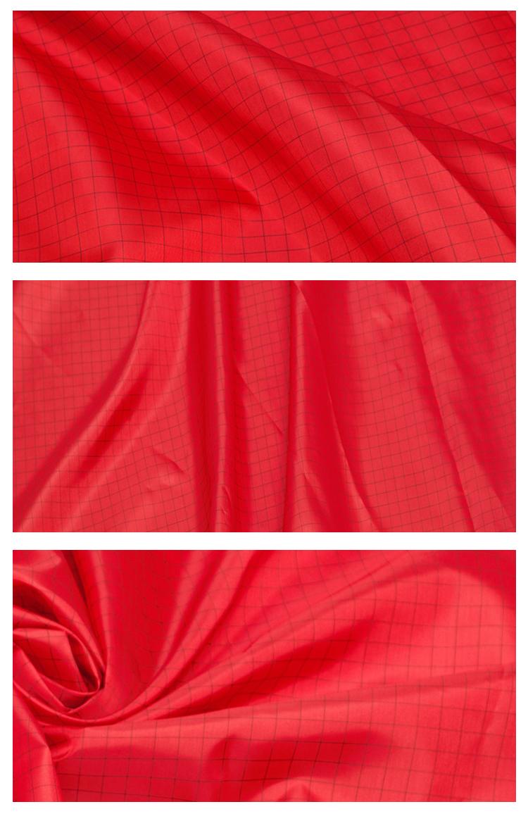 170t 190t 210t polyester taffetas/doublure et doublure intérieure de costume tissus matelassés pour veste et bas porter