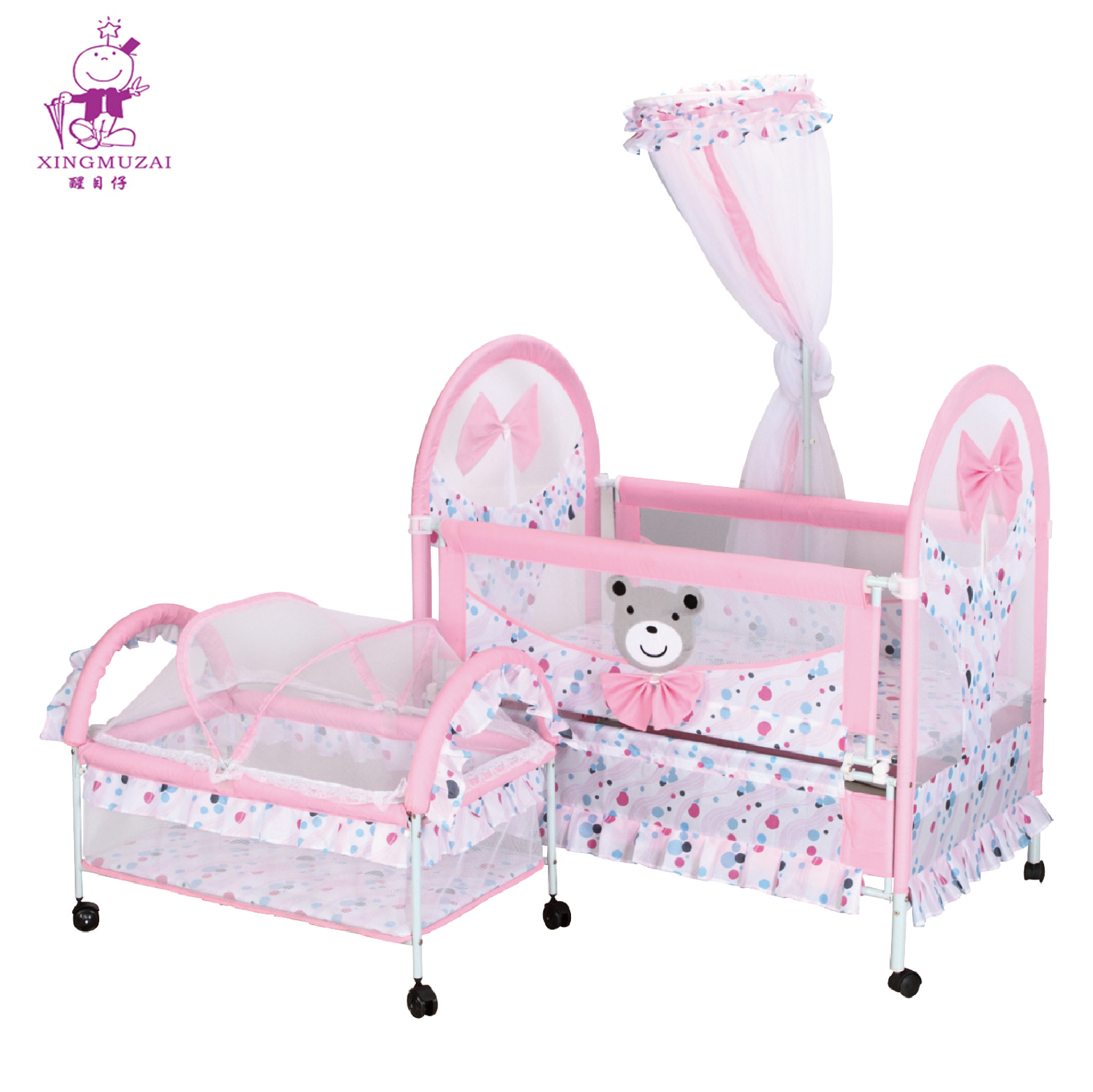 Picture of: Portable Iron Metal Baby Cot Firm Children Bed With Mosquito Net Buy Baby Metal Crib Metal Firm Children Bed Portable Iron Metal Baby Cot Firm Children Bed With Mosquito Net Product On Alibaba Com
