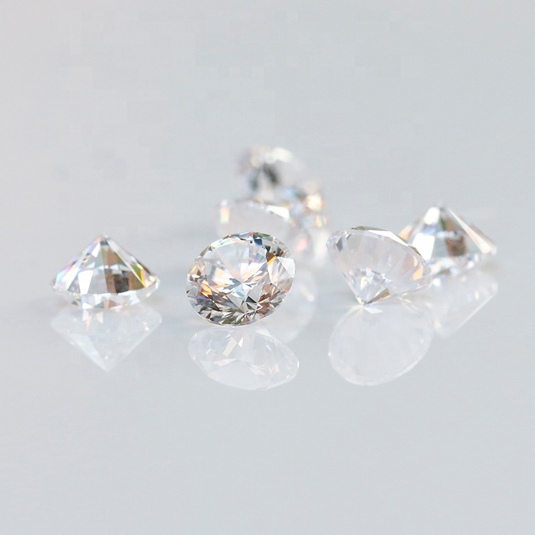 Good price DEF color VVS round moissanites <strong>diamond</strong> price per carat