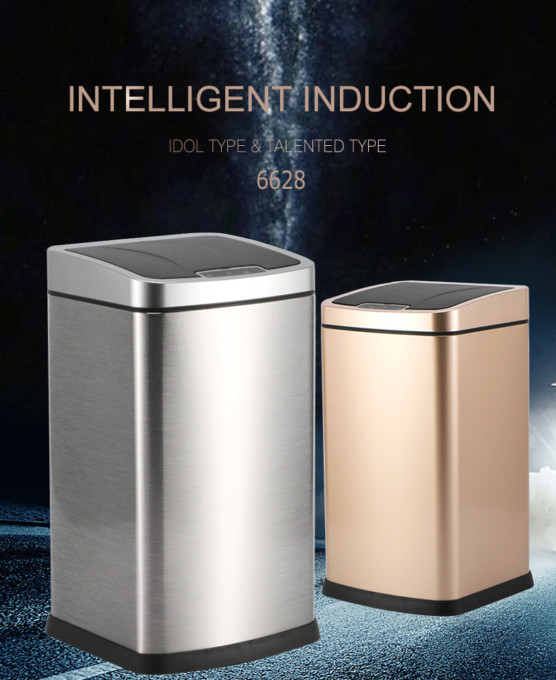 2020 hot sale smart sensor trash can for home office, automatic kitchen smart trash can / automatic trash can / sensor trash can