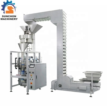 1kg 2kg Automatic Filling Seeds/ Sugar/ Rice Solid Vertical Packaging Machine By Cup