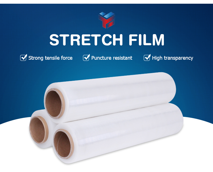 PE stretch wrap packing protective Film