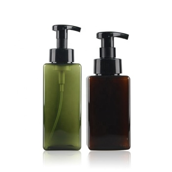 Plastic hand wash bottle hand soap foam hand wash bottles pump bottle