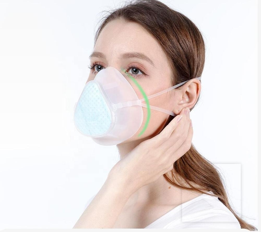 KingCare S9 filter element Water wash reusable face mask with edible silicone sleeve - KingCare | KingCare.net