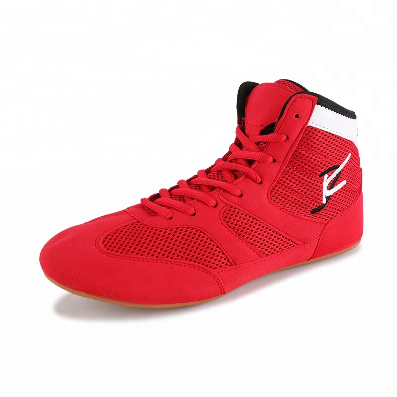 Personnalisé oem professionnel chinois pakistan sport chaussures de lutte pour hommes