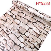 10 м кирпичные обои водонепроницаемые самоклеящиеся ПВХ Настенные стикеры papel де parede для декора стен(Китай)