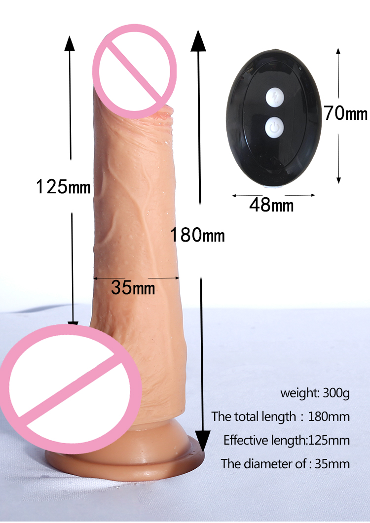 Super Huge Realistic Women with Sex Animals Penis Dildo 35mm dildo 6 speeed dildo with anuls function