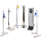 Hand Dispenser Sanitizing Wholesale Metal Step Foot Operated Liquid Soap Sanitizer Dispenser Stand Hand Touchless
